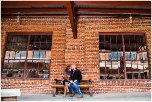 sami roy photography, virginia beach engagement photographer, north carolina cotton room, raleigh Durham