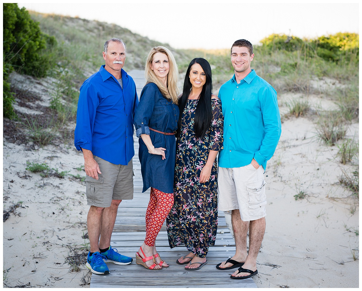 The Hills Family Portrait Session // Beachfront Family Portraits