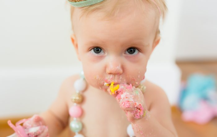 Kinley's Cake Smash // Hampton Roads Studio, Virginia Beach