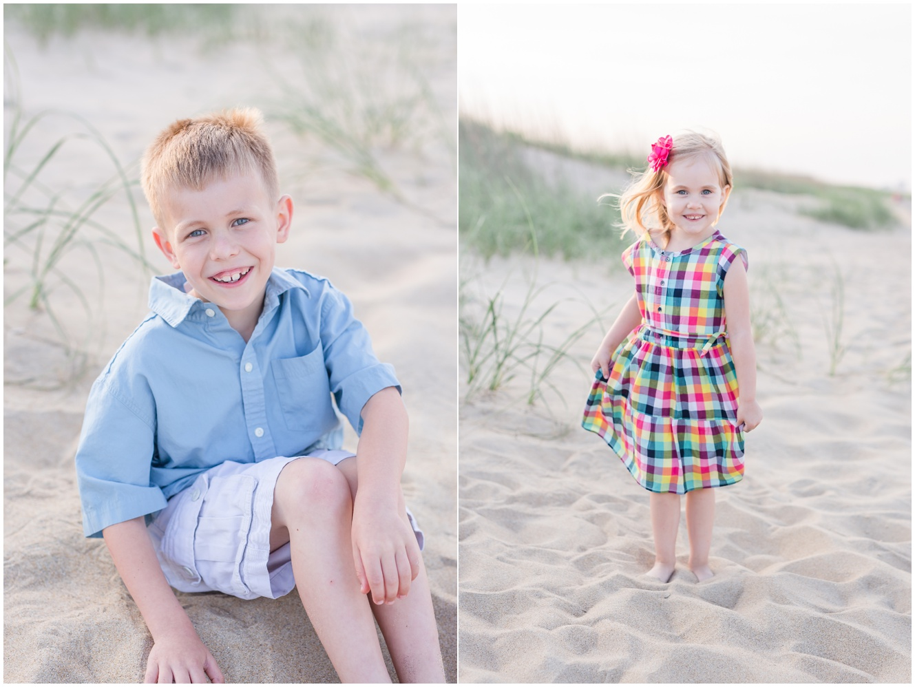 A Family Portrait Session // Dam Neck Beach in Virginia Beach