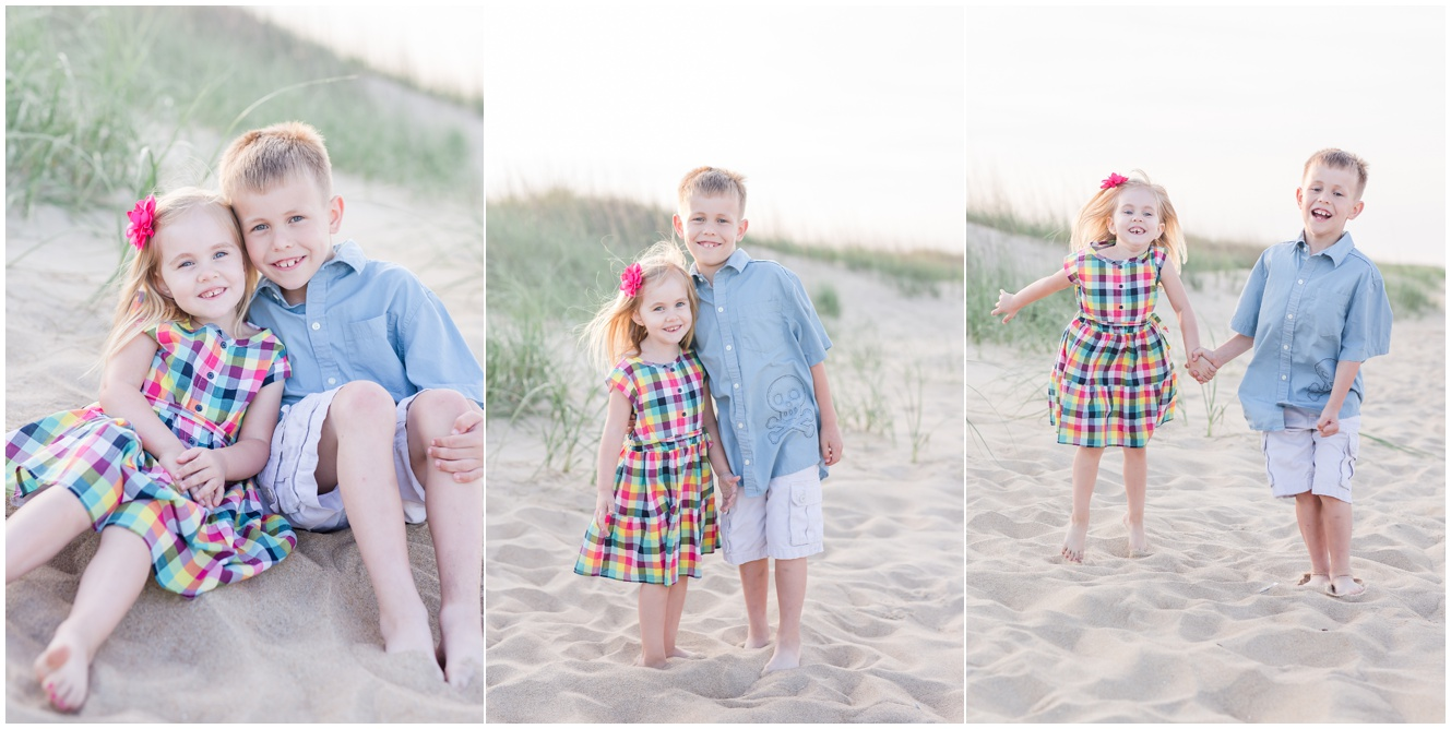 virginia beach family photographer, dam neck beach, sami roy photography , family portrait session children photography virginia beach