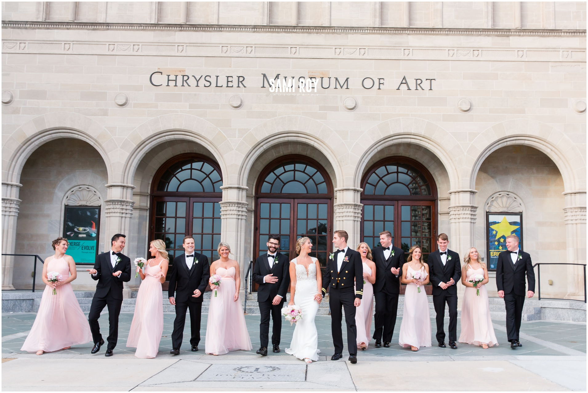 Mary and Nate // Chrysler Museum, Norfolk VA