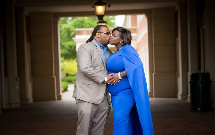 Kristie's Maternity Photoshoot // Christopher Newport University, Newport News