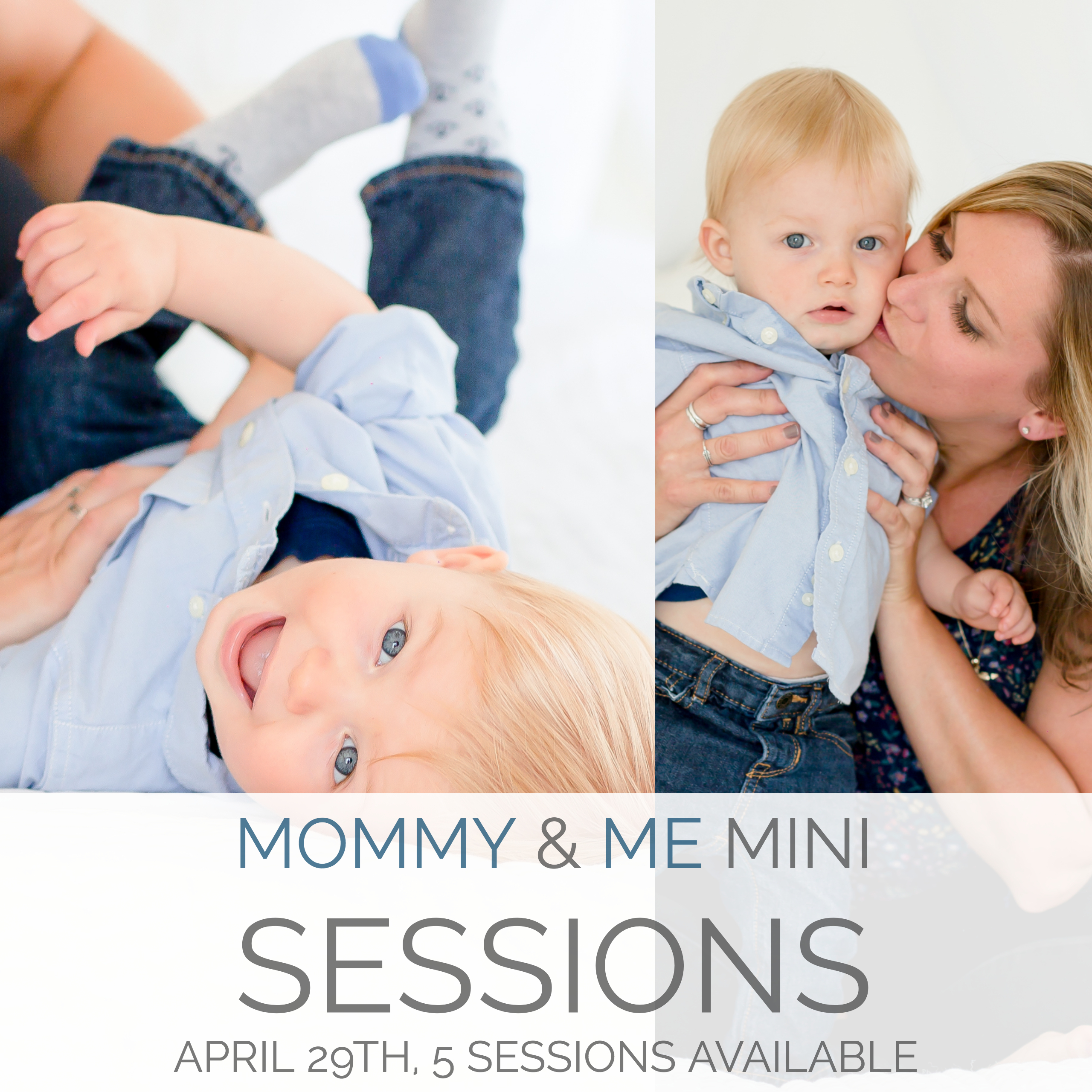 Mommy & Me Mini Sessions at The Studio Hampton Roads