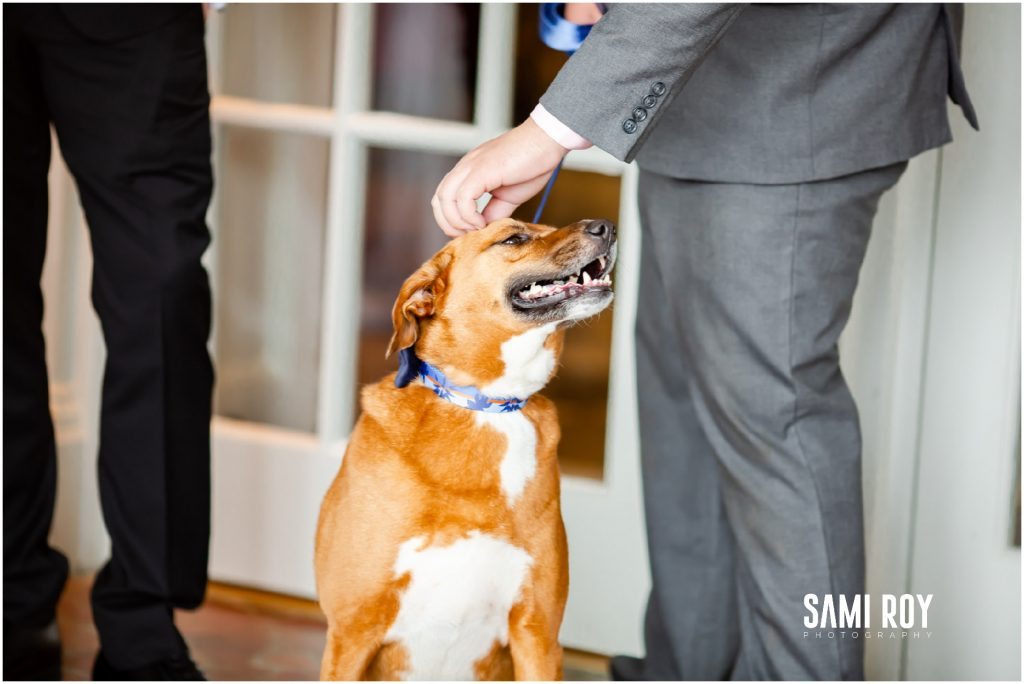 Virginia Beach Cavalier Hotel wedding, Blue wedding dress, Sami Roy Photography
