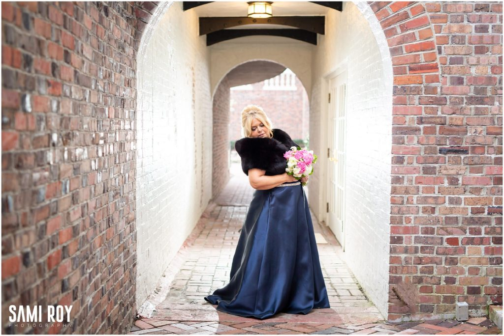 vVirginia Beach Cavalier Hotel wedding, Blue wedding dress, Sami Roy Photography