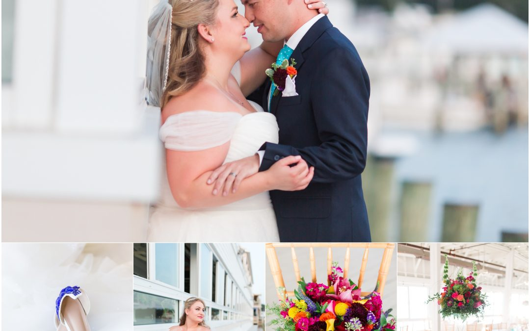 Brad and Courtney // Lesner Inn, Virginia Beach