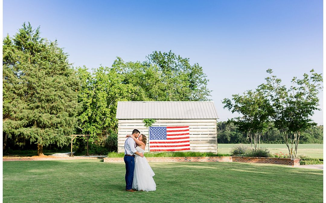 Carl and Mary // Mimosa Barn 4th of July Wedding, Cape Charles