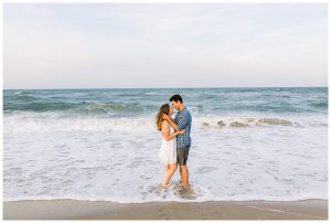 Just Married beach photo, Sami Roy Photography