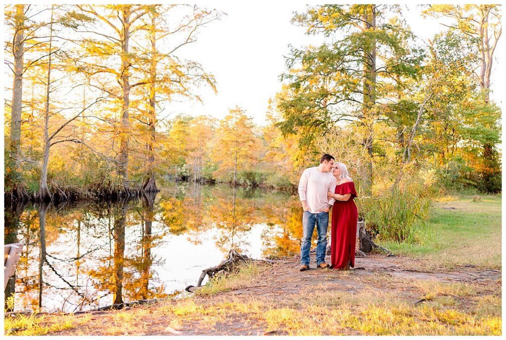 Luke & Ashley, fall engagement session, waterside engagement session, Sami Roy Photography