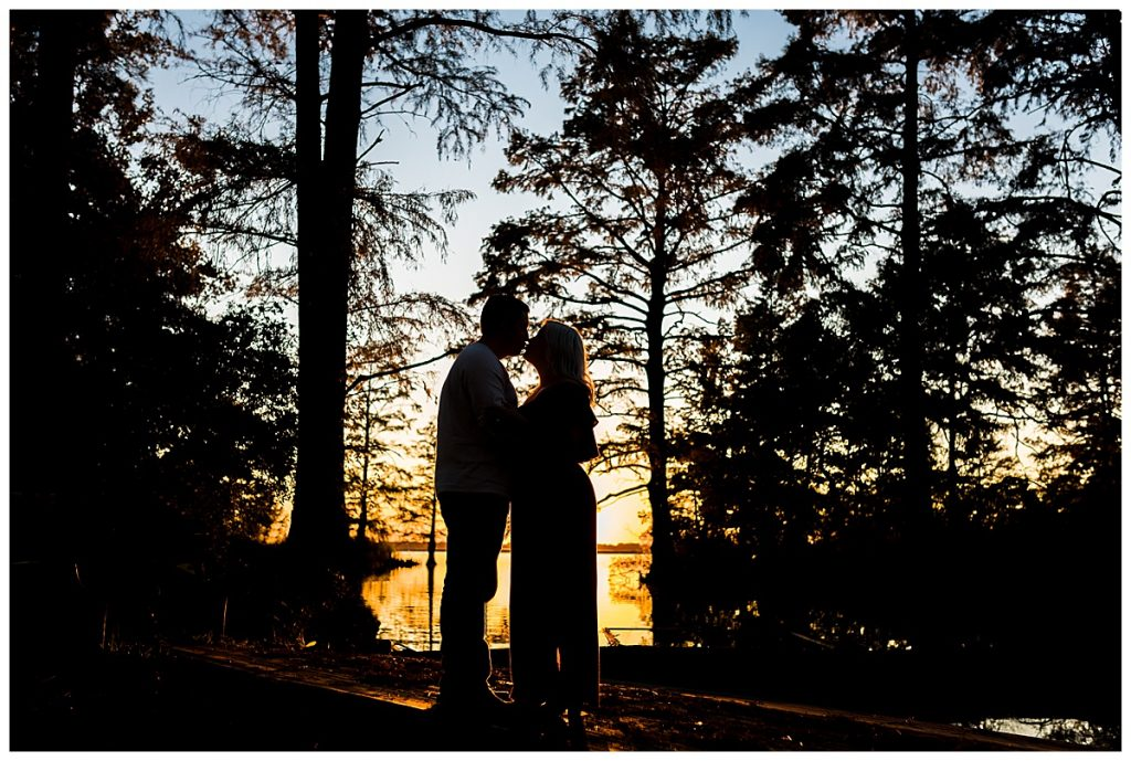 Luke & Ashley, fall sunset engagement session, Sami Roy Photography