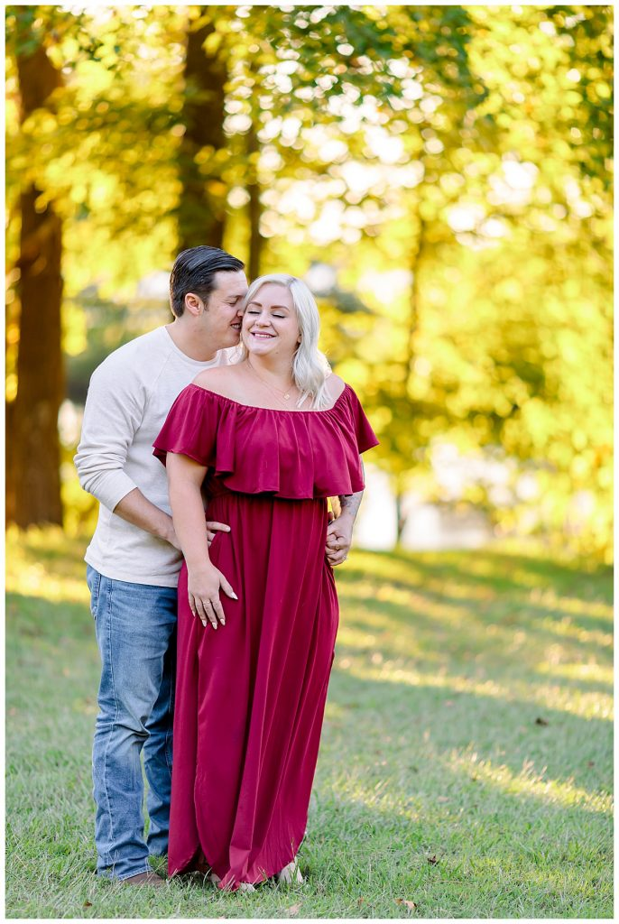Luke & Ashley, fall engagement session, Sami Roy Photography