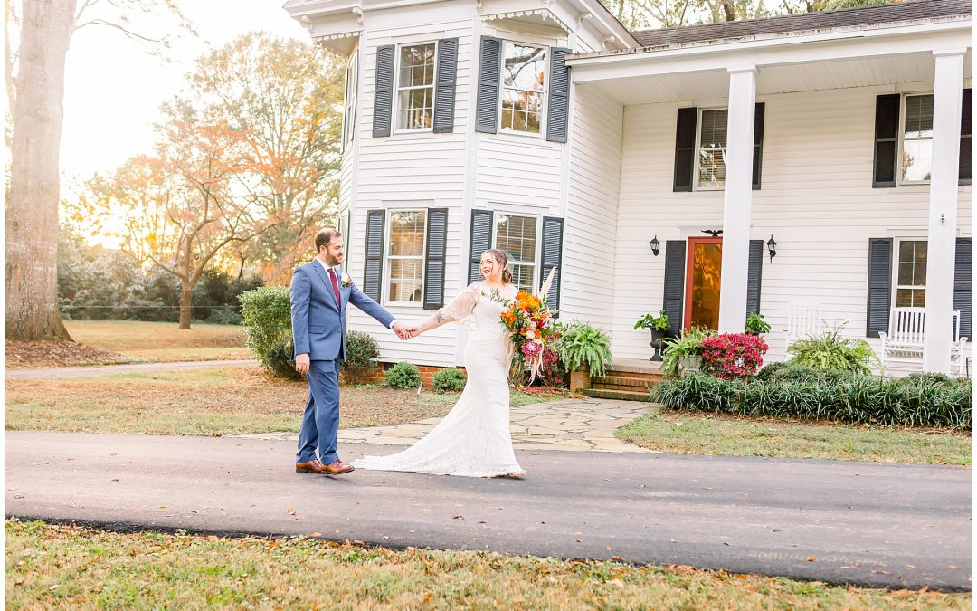 Sarah & Matt // Intimate Kellam Estate Wedding, Virginia Beach